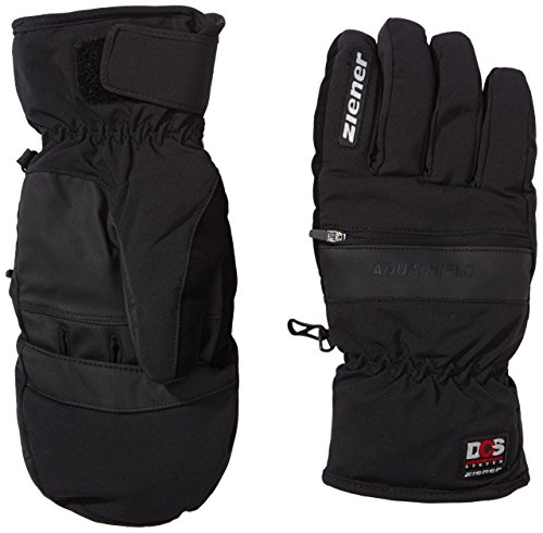Ziener Erwachsene Skihandschuhe Gaucho AS DCS Glove Ski Alpine, Black, 9, 991064