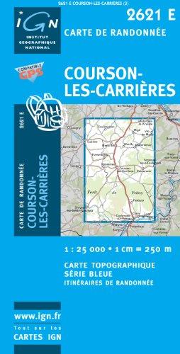 2621e Courson-les-Carrieres par (Carte - Jul 9, 2009)