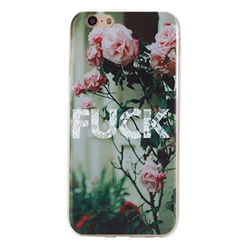 iPhone 6 hülle,iPhone 6S Case, Cozy Hut Kratzfeste Plating TPU Silicone Case Schutzhülle Ultra Dünn Tasche für mit iPhone 6 6S (4,7 Zoll) Hülle Case Transparent - Flamingos FICK