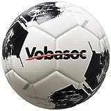 Vobasoc Fußbälle #5 Trainingsbälle,Turnierball Standart,Erwachsene,Kinder,Rautenmuster,Hochelastischer PU wärmeverbindung Fußball