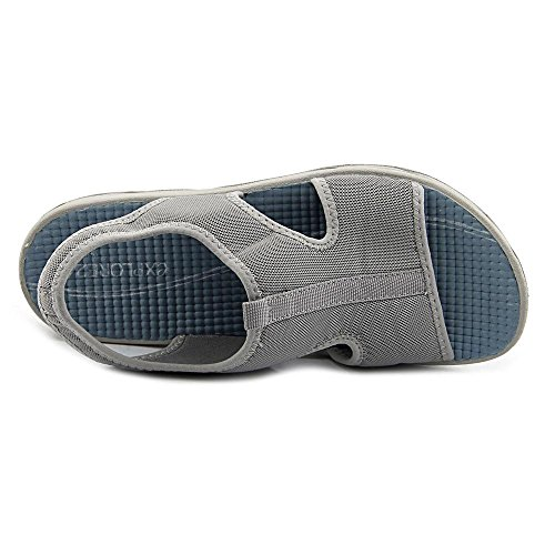 Easy Spirit Yamaste Femmes Toile Sandale Light Grey