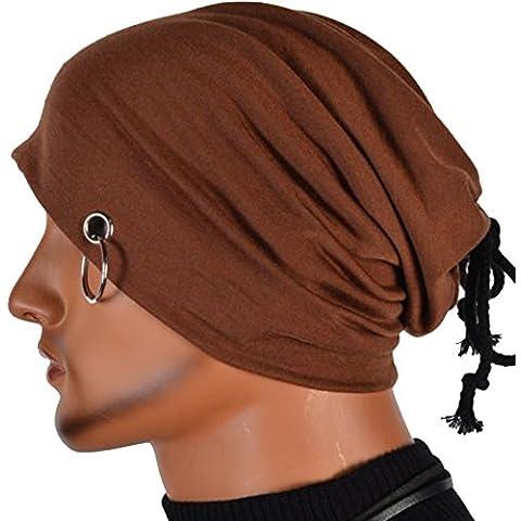 Molly Uomini Berretto A Maglia Hip Hop Sciarpa Cappello