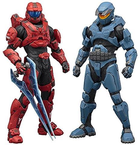 Halo - Pack 2 statuettes PVC ARTFX+ Mjolnir Mark V & Mark VI 21 cm