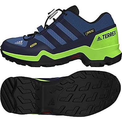 buy popular 46ce0 7de0f adidas Unisex-Kinder Terrex GTX Trekking-   Wanderhalbschuhe Blau  (Azretr Maruni