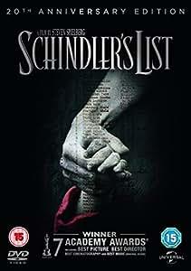 Schindler's List - 20th Anniversary Edition [DVD] [1993]