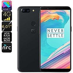 Oneplus 5T 6Go+64Go - Snapdragon ™ 835 Octa Core - 4G - Double caméra - 20+16MP Noir