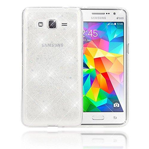 a08a14944a1 NALIA Funda Compatible con Samsung Galaxy Grand Prime, Purpurina Carcasa  Movil Protectora Cubierta Delgado Glitter