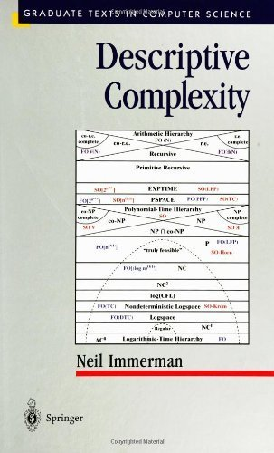Descriptive Complexity (Texts in Computer Science) by Neil Immerman (1999-01-01)