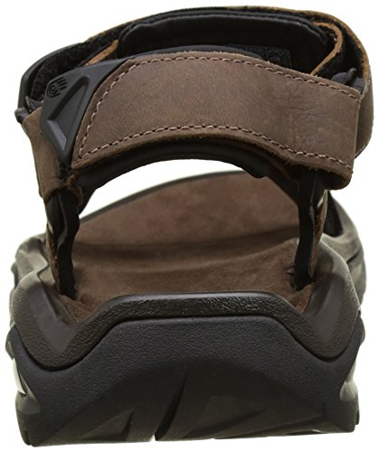 Teva M Terra Fi 4 Leather, Scarpe da Atletica Leggera Uomo Marrone (Bison BIS)