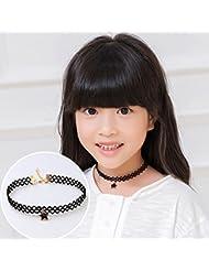 Kinder-Kette Mädchen-Schmuck-Halskette, Korea-/Schlüsselbein Kette/Halskette