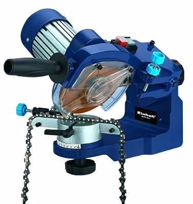 Einhell Sägekettenschärfgerät BG-CS 235 E (235 W, 3000 U/min, Tiefenbegrenzung, Spannvorrichtung, Beleuchtung) von Einhell