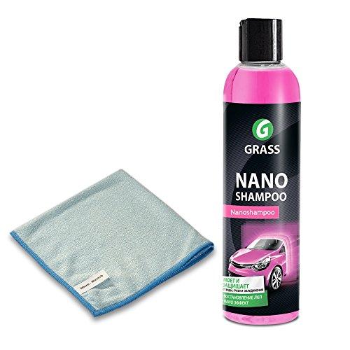 Firoxx Auto Nano Shampoo Konzentrat | 250ml Nanoshampoo Konzentrat + Microfasertuch | Antiregen, Lotuseffekt thumbnail
