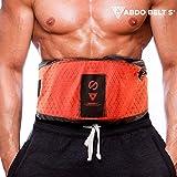 Abdo Belt S la ceinture vibrante avec système sauna chauffant bande de massage Masseur Massage Minceur Pro palper rouler Massage bande abdominale emmèlement