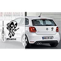 Deadpool #2 Love mit Hashtag oder nur Name | Auto Aufkleber | coole Aufkleber | lustige | Wunschtext