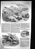 Sierra 1849 Madre Monterey Saltillo Convertissant la Baie Panama de Schooners de Canoës