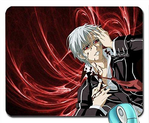 ugen Vampire Knight Anime Jungen weiß Haar Hände in Haar 1024x 768Tapete Maus Pad Computer Mauspad ()