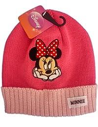 Bonnet Rose Minnie Mouse Disney - Marchandise certifiée Disney