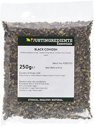 JustIngredients Trauben-Silberkerze, Black Cohosh, 1er Pack (1 x 250 g)