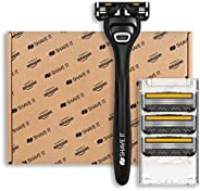 Shave It Value, rasoio a 3 lame, con manico e 4 lame
