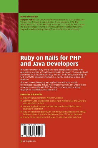 Ruby on Rails for PHP and Java Developers - Bild 3