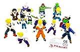 Kinder Überraschung 14 Action Figuren von Dragonball (Firma Panini)