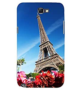 PRINTSWAG TOWER Designer Back Cover Case for SAMSUNG GALAXY NOTE 2