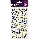 Sparkler adesivi-musica classica note