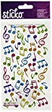 Notes de Sparkler Stickers-musique classique