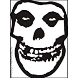 MISFITS Skull crâne Punk Rock Music musique Band Sticker autocollant, Officially Licensed Products Classic Rock Artwork Création Long Lasting Sticker autocollant DECAL L'AUTOCOLLANT