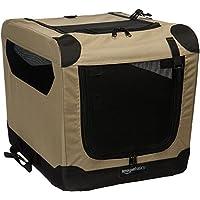 AmazonBasics - Transportín para Perros, Blando, Plegable, 53,3 cm
