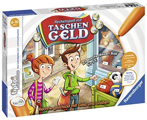 einkaufen spiel Ravensburger 00779 - Tiptoi Rechenspaß mit Taschengeld