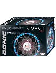 Donic Formación Bola Coach 40+ 120 PC, Opciones 3XL, negro