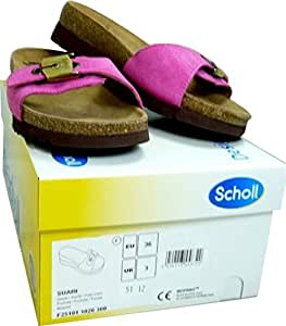 Scholl Size 39 Fuchsia Bioprint Suari Women's Sandals