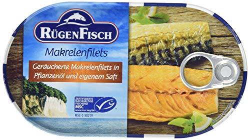Rügen Fisch Makrelenfilets, 19er Pack (19 x 200 g)