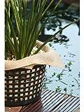 5 Stück Jute-Pflanzentücher