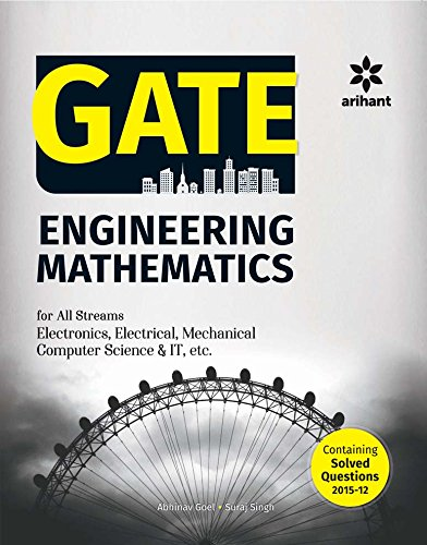 GATE Engineering Mathematics for all Streams (ME, EC, EE, CE, CS & IT, IN etc.)