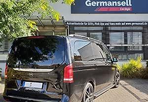 Trittbretter Passend Für Mercedes V Klasse W447 Lang Ab Baujahr 2014 Model Truva Mit TÜv Und Abe Auto
