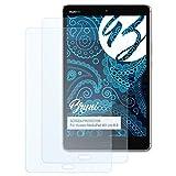 Bruni Schutzfolie für Huawei MediaPad M3 Lite 8.0 Folie, glasklare Bildschirmschutzfolie (2X)
