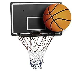 set de basket ball panneau 90 cm cercle avec filet. Black Bedroom Furniture Sets. Home Design Ideas