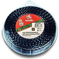 AUSONIA - 83780 HILO CABLE PARA DESBROZADORA PROFESIONAL VERTIGO EN BLÍSTER DE 3,0 MM X 75 METROS