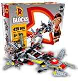 TOTTA Mighty Raju Design Building Block Play Set for Kids (A 425 pcs Play Set)