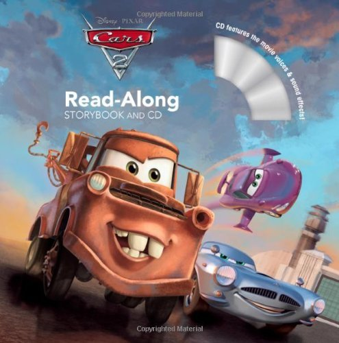 Cars 2 Read-Along Storybook [With CD (Audio)] (Read-Along Storybook and CD) by Chase Wheeler (Adapter), Frank Turbe (Contributor), Disney Storybook Artists (Illustrator), (17-May-2011) Paperback par Frank Turbe (Contributor), Disney Storybook Artists (Illustrator), Chase Wheeler (Adapter)