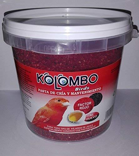 KOLOMBO Pâte d'élevage et maintien Factor Rouge (format 450 gr)