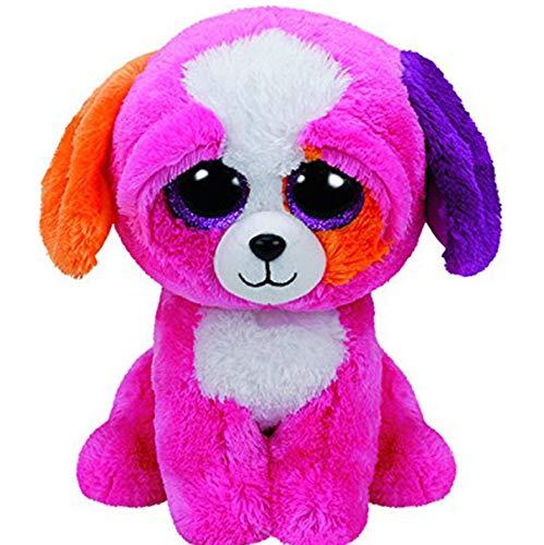 qingfengxulai Plüschtier Kostbares Hundeplüschtier Gewöhnliches Großes Auge Gefülltes Tier Welpen Puppenspielzeug 40 cm (Welpen Gefüllte)