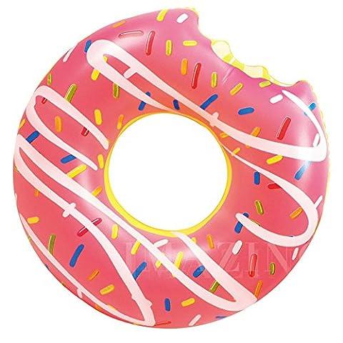 Ardisle Inflatable Donut Doughnut Tube Pool Float Beach Swimming Toy Lilo Swim Ring LARGE JUMBO