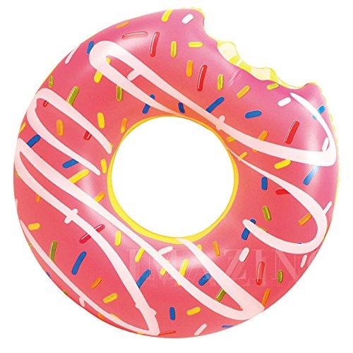 Lilo, aufblasbarer Schwimmreifen von Ardisle, Donut-Schwimmreifen für Schwimmbad und Strand, riesengroß