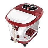 LJHA Fußwanne Automatisches Fußbecken Elektrische Massage-Heiztöpfe Fußmaschine Tiefe Fässer des Fußbades (464 * 387 * 348mm) Fußwanne