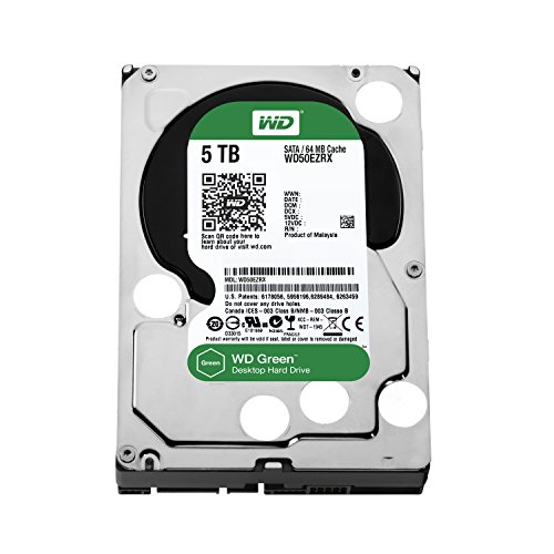 Western Digital  WD50EZRX Internal hard drives (3.5 Inches|#8.89 cm (3.5 Zoll), 7200rpm, 64 MB, SATA)