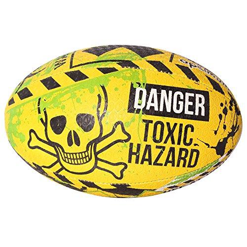 Optimum–Chaqueta de peligro Midi Balón de Rugby, hombre, Hazard, multicolor