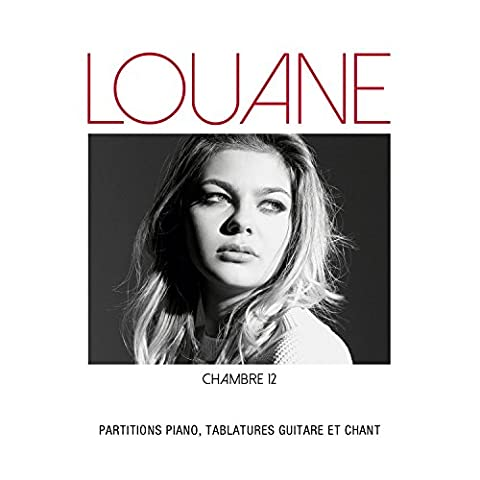 Partitions variété, pop, rock AEDE MUSIC LOUANE - CHAMBRE 12